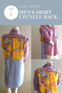 Men's Shirt Upcycle Hack | Chambray Blues | www.chambrayblues.com