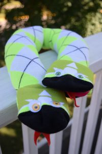 Sock Snake Travel Pillow for Kids | Chambray Blues | www.chambrayblues.com