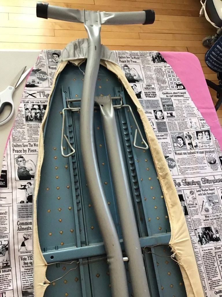 DIY Ironing Board Cover | Chambray Blues | www.chambrayblues.com