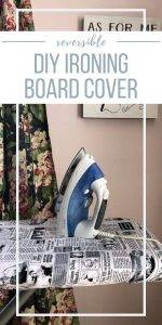Reversible DIY Ironing Board Cover | Chambray Blues | www.chambrayblues.com